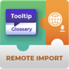 Tooltip Glossary Remote Import Add-On for WordPress by CreativeMinds
