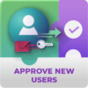 Registration Approve New Users Addon for WordPress