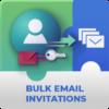Registration Bulk Email Invitation Addon for WordPress