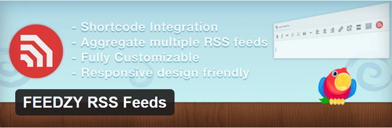 FEEDZY RSS Feeds - Top 5 RSS Aggregator Plugins for WordPress in 2020