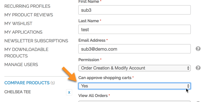 Multi User Account Extension for Magento®1 by CreativeMinds