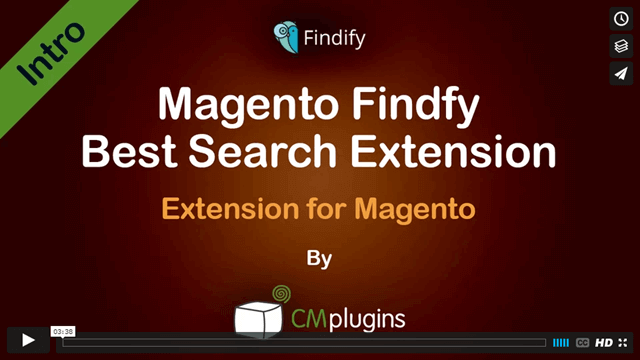 Findify Best Search Extension for Magento
