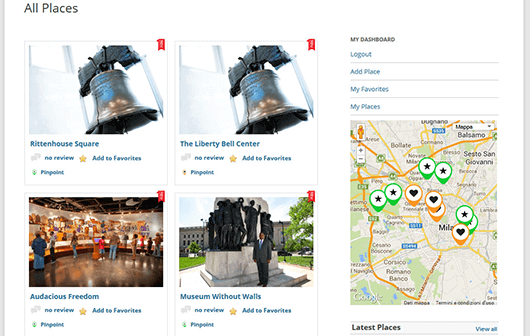 GeoDirectory directory page - Top 5 WordPress Plugins to Create a Business Directory