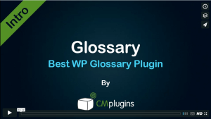 Introduction to CM Tooltip - The best WordPress dictionary tooltip plugin