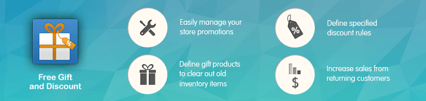 Magento Free Gift with Purchase Extensions by CreativeMinds
