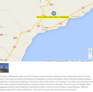 Location Detailed Description - WordPress Google Map Locations Plugin Screenshot