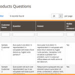 Admin managing answers #1 - Questions and Answers Module for Magento