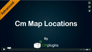 Map Location Manager Plugin for WordPr
