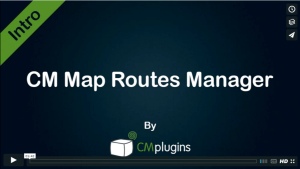 Showing route and trail information on your WordPress Blog