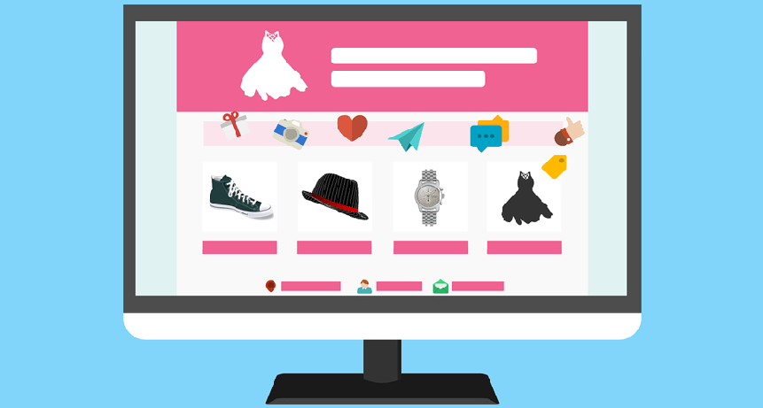 Image of an online marketplace to represent a Magento marketplace