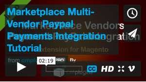 Marketplace Multi-Vendor Paypal Payments Integration Tutorial