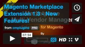 cmplugins Magento Marketplace Extension 1.3 - New Features!