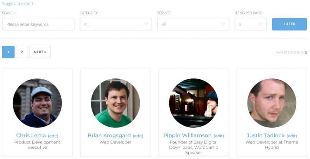 Expert and Member Directory Plugin by CreativeMinds - 5 Best Expert and Member Directory Plugins for WordPress
