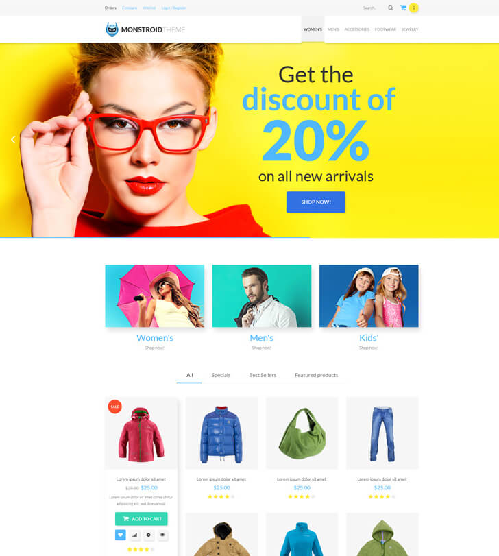 Monstroid. woocommerce theme - How to Choose a WordPress Theme
