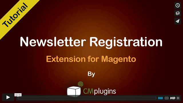 How to collect information about your newsletter subscribers in Magento ecommerce platform - Tutorial