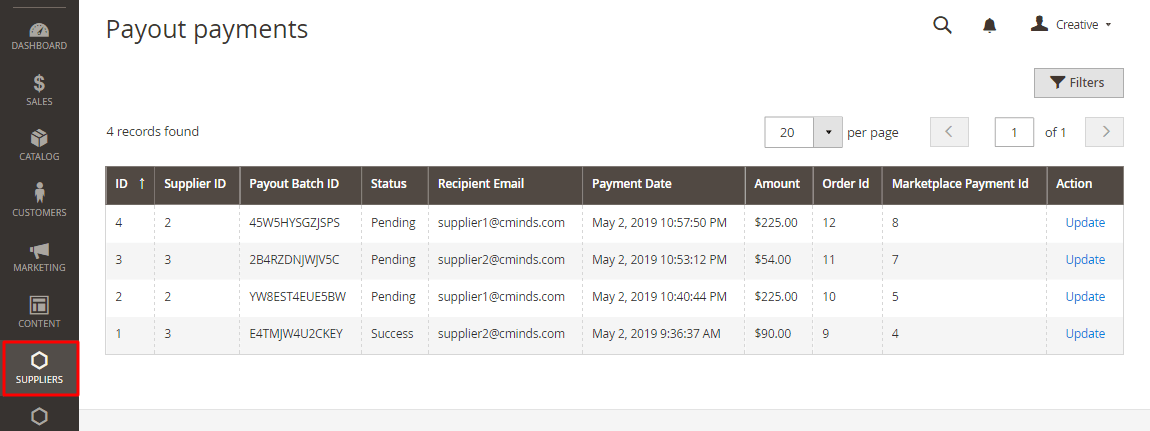 PayPal Payout Payments