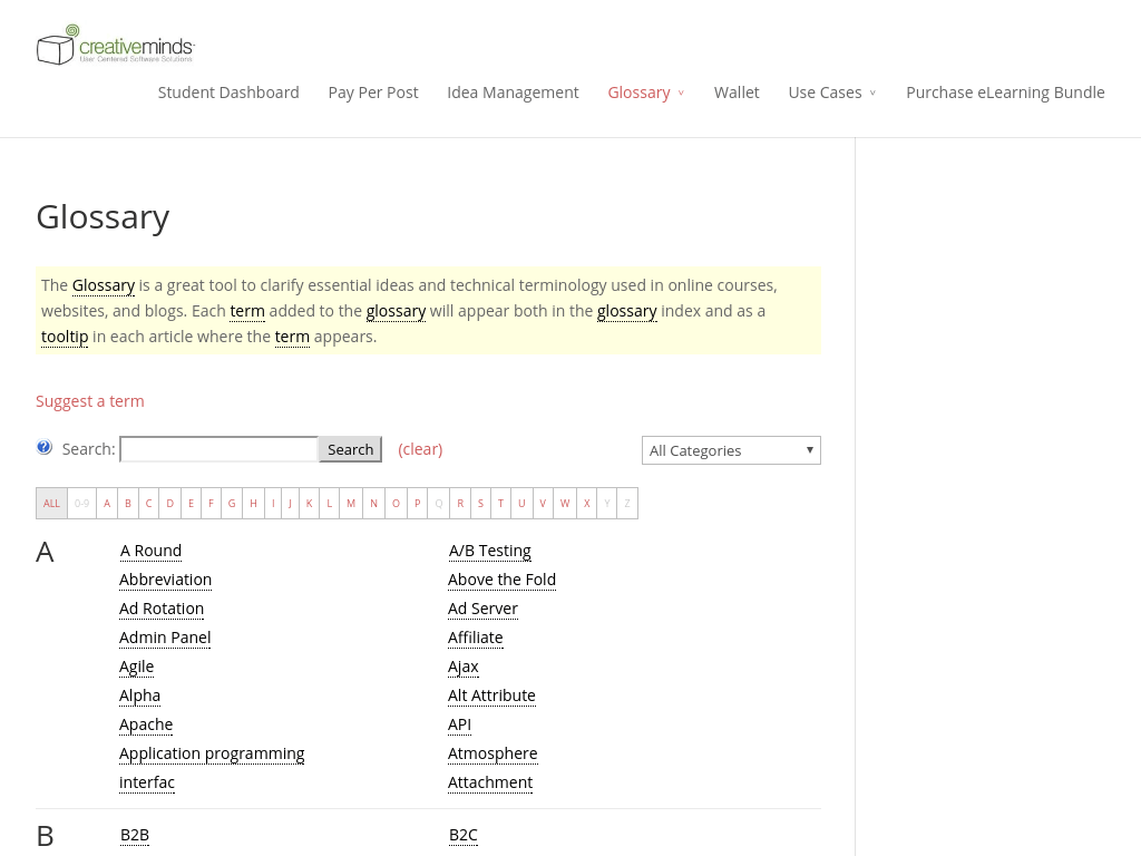 ResearchTrail Glossary