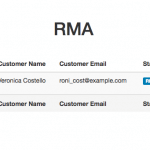 Vendor management - Step 1- RMA Requests Module