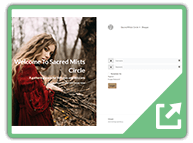 sacredmistscircle.com (1) - User Submitted WordPress Plugin Example Sites