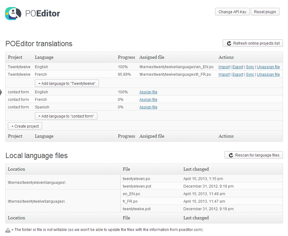 Poeditor WordPress translation plugin - Translating WordPress Plugins Manually - WordPress Translation and Localization - Tips and Tricks