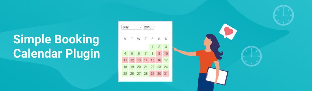 WP Simple Booking Calendar - 5 Best Calendar Booking Plugins for WordPress - Creative Minds blog