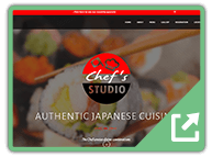 ss-chefsstudiojapan - Notification Bar WordPress Plugin example site