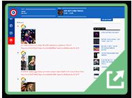 ss-iradio-guru (1) - Twitter Aggregator WordPress Plugin example site