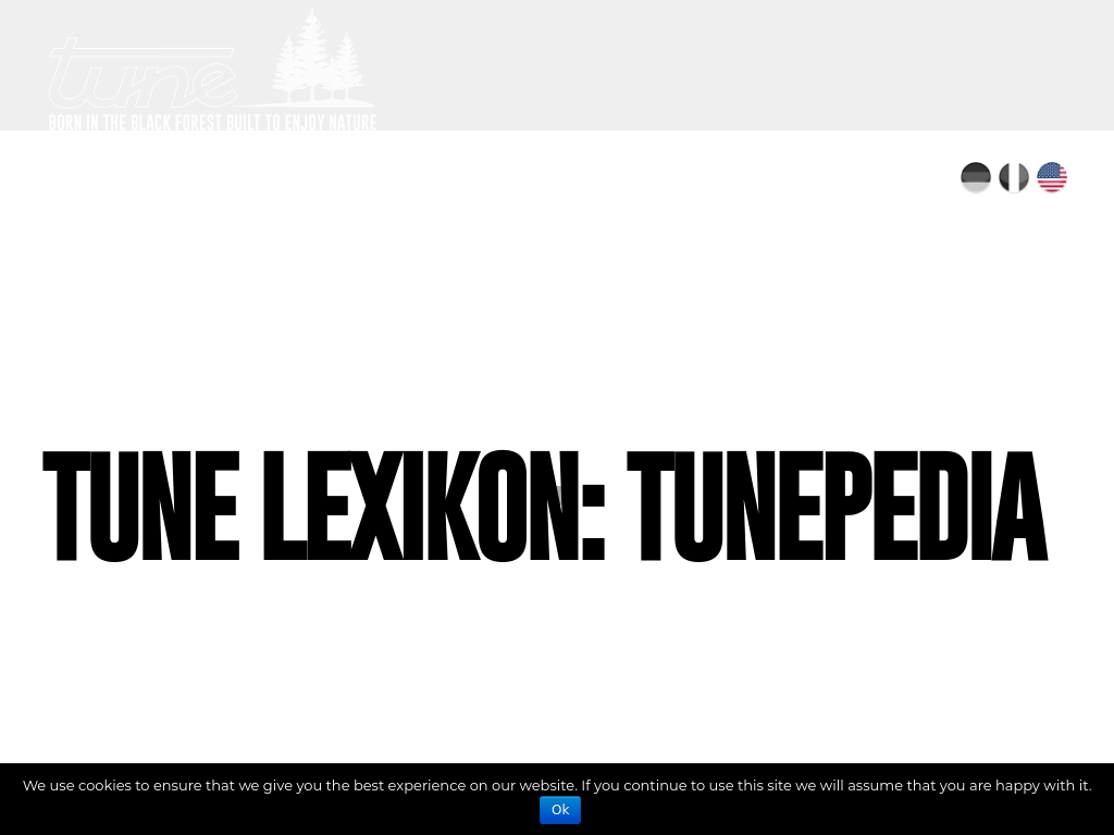 TunePedia Glossary