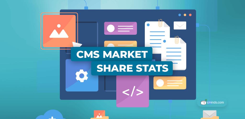 WordPress vs Squarespace   CMS Market Share Statistics 2021
