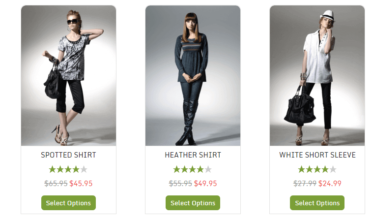 A store created with WP EasyCart - Best Plugins to Build an Online Store with WordPress